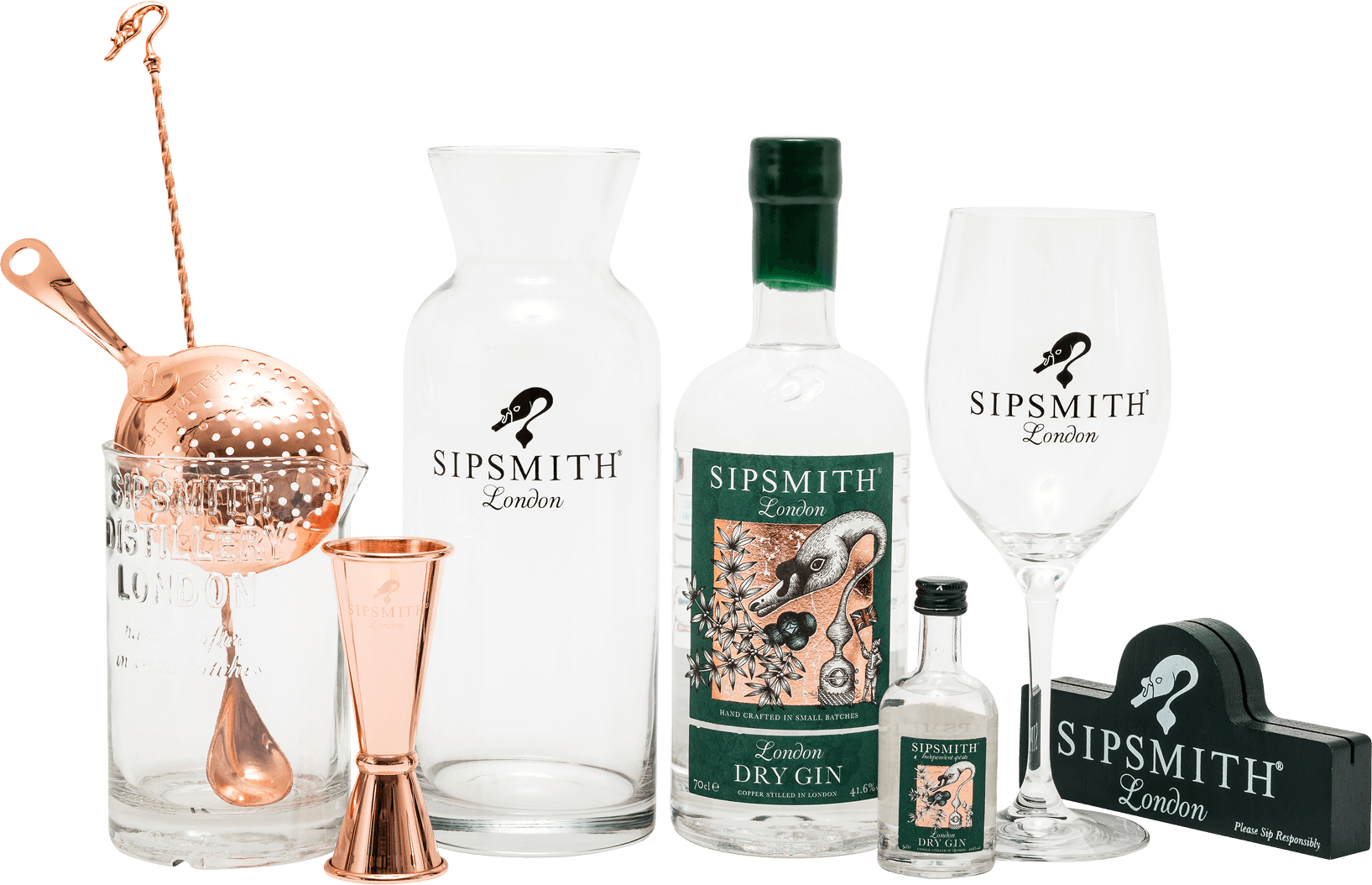 Custom branded products for Sipsmith Gin
